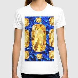 SEPTEMBER CHAMPAGNE TOPAZ GEM BIRTHSTONES T-shirt