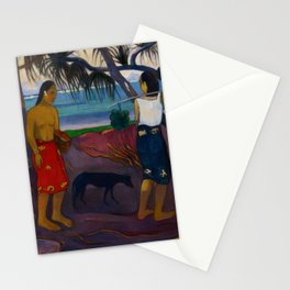"Paul Gauguin ""I Raro te Oviri (Under the Pandanus)"" Stationery Cards"
