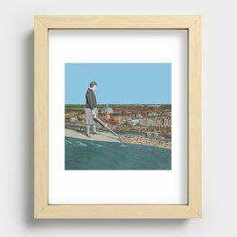 Summer is over! Recessed Framed Print