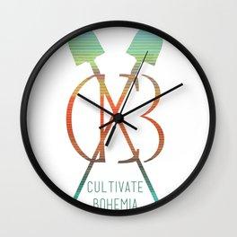 Serape Bohemiana Wall Clock