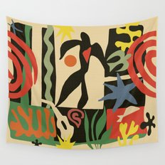 Inspired to Matisse (vintage) Wall Tapestry