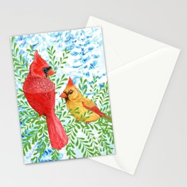 Christmas Couple Stationery Cards