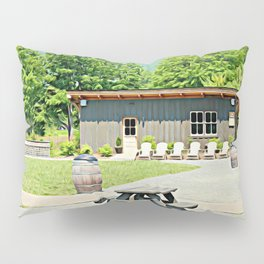 Little Shanty In The Hills Pillow Sham