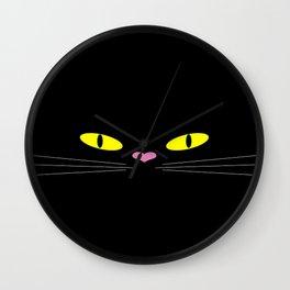 Kuroneko Wall Clock