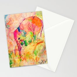 Nellie the elephant-1 Stationery Cards