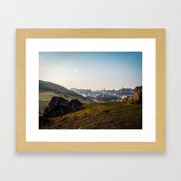Edinburgh Skyline Framed Art Print