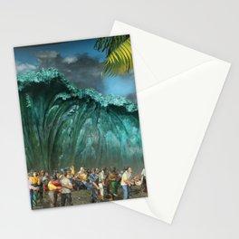 Tsunami Monument Stationery Cards