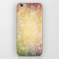 baroque iPhone & iPod Skins featuring Baroque by Cullen Rawlins