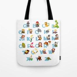 ABC  medieval (english) Tote Bag