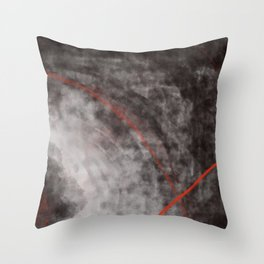 I should have read between the lines- abstract expressive art Throw Pillow