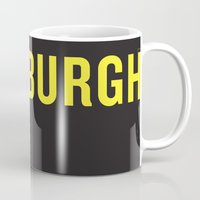 pittsburgh Mugs featuring Pittsburgh Pride by KatieKatherine