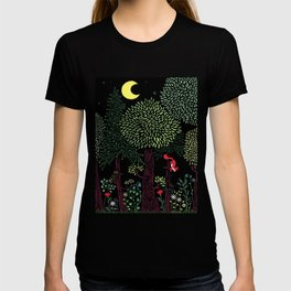 Into The Woods At Night T-shirt
