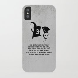 George Orwell - Animal Farm iPhone Case