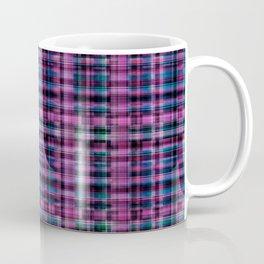 Electric Pink - Purple Plaid Coffee Mug
