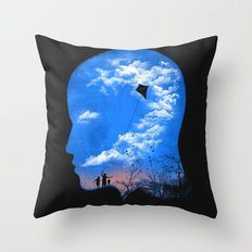 Pulling Out Some Thoughts Throw Pillow