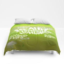 Health Transcends – Lime Comforters