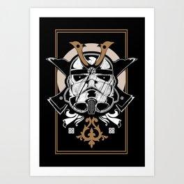 Trooper x Samurai Art Print