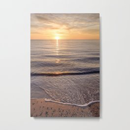Solitude at Sunset Metal Print
