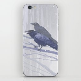 Huginn and Muninn iPhone Skin