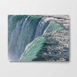 Niagara Falls - Closeup Metal Print