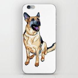 German Shepard iPhone Skin