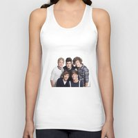 one direction Tank Tops featuring One Direction by Sara Khaled