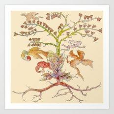 Garden of Eve Art Print