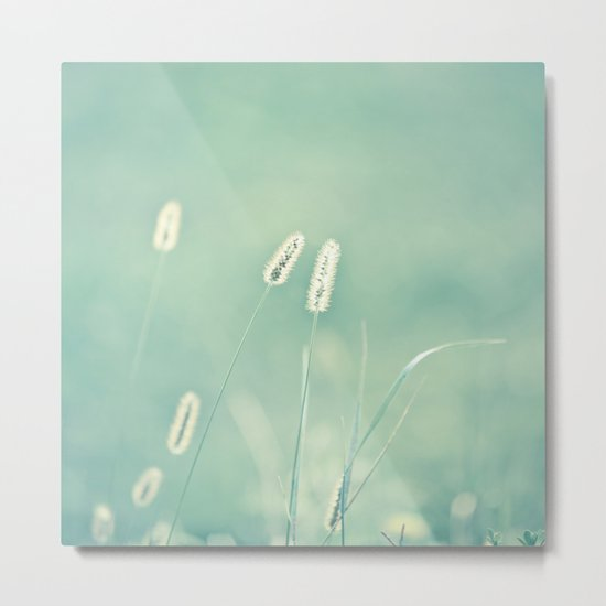 Ghostly Metal Print