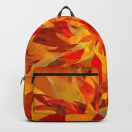 Blazing Infused Nightfall Flower Backpack