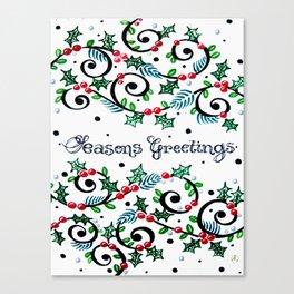 CWG Christmas Canvas Print