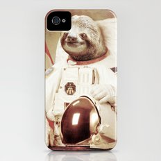 Sloth Astronaut Slim Case iPhone (4, 4s)