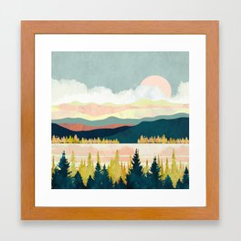 Lake Forest Framed Art Print