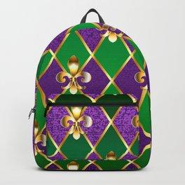 Jewelry Background Mardi Gras Backpack
