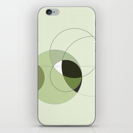 Elegant Circular Geometry iPhone Skin