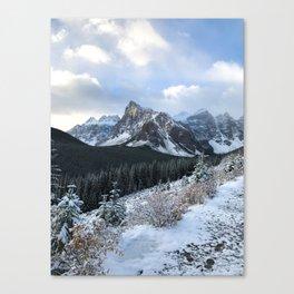 Snow-Capped Canvas Print