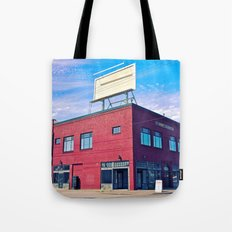 Historic Newbert building Tote Bag