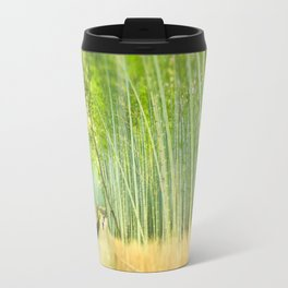 Bamboo Forest Drenched in the Sun Travel Mug