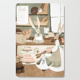 Bunny Bakery Cutting Board