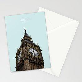 Big Ben, London Travel Artwork Stationery Cards