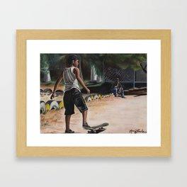 'El Soñador' (The Dreamer) Framed Art Print