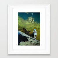 onward Framed Art Prints featuring Onward by John Turck