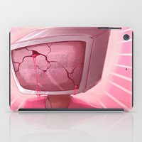 cracked iPad Cases featuring cracked. by Zombie Rufio