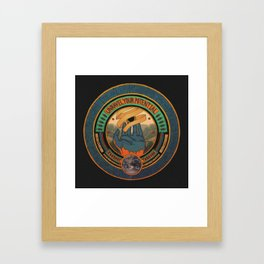 The Futures Effulgence.  Framed Art Print