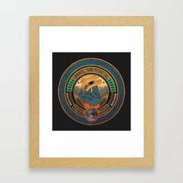The Futures Effulgence.  Framed Art Print
