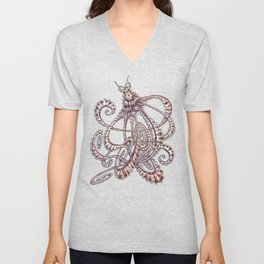 Mimic Octopus Unisex V-Neck