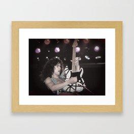 Eddie guitar GOD Framed Art Print