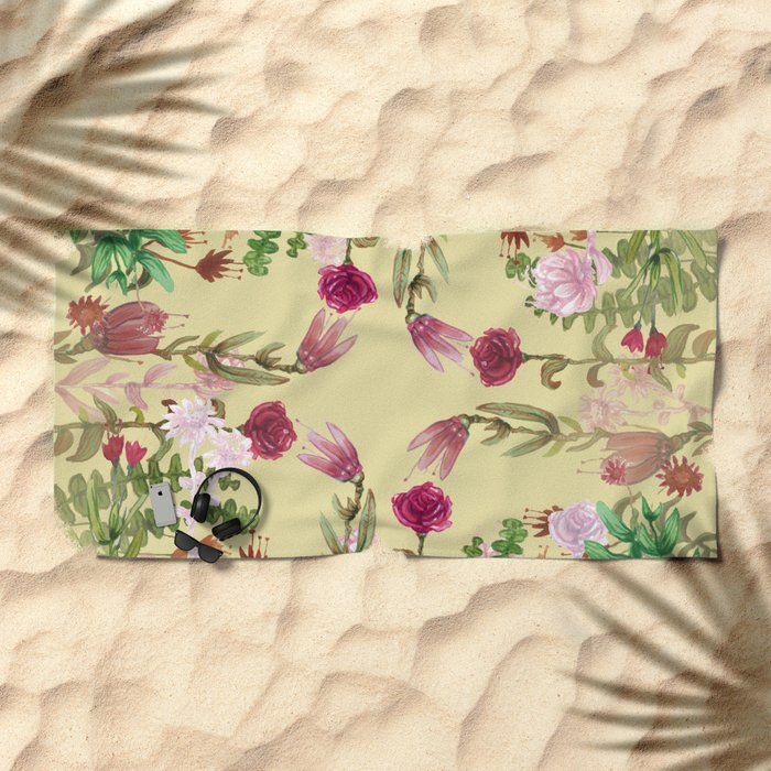Central Nature Beach Towel
