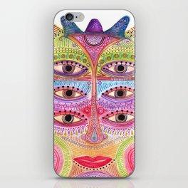 kindly expressed kind of kindness mask iPhone Skin