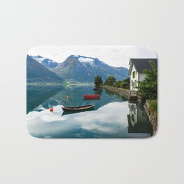 Beautiful Hjelle, Norway Bath Mat