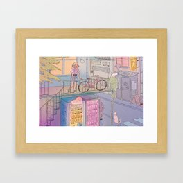 City Escape Framed Art Print